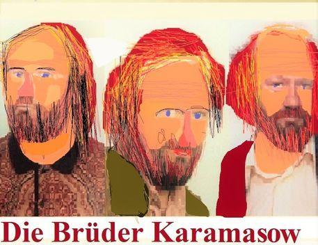 'Die Brüder Karamasow' von Martin Blättner bei artflakes.com als Poster oder Kunstdruck $6.48