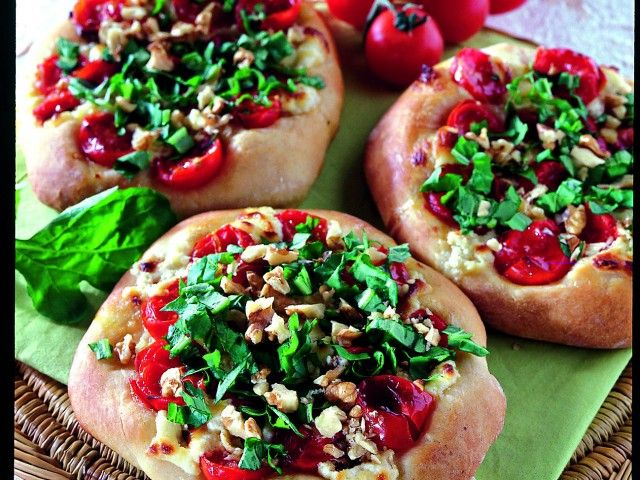 Donna Moderna: Pizzette tricolori