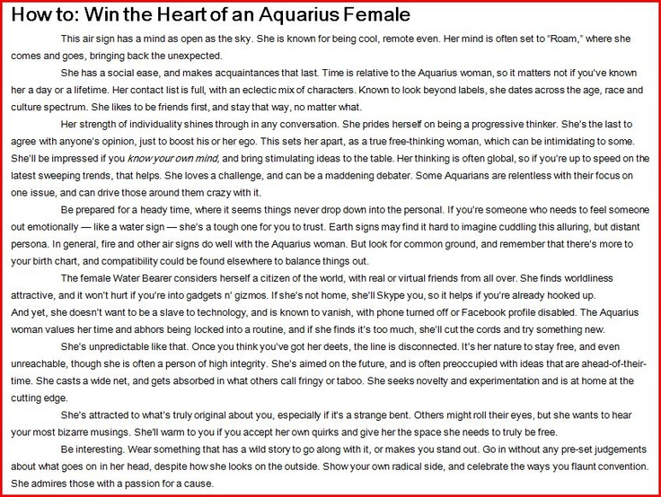 How to win the heart of a libra woman