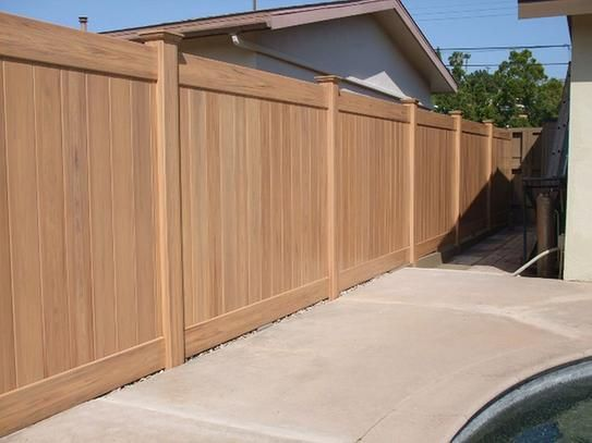 17 Best Ideas About Vinyl Privacy Fence On Pinterest