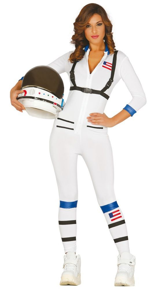 Fancy Me Limited - Ladies Astronaut Fancy Dress Costume, £22.99 (http://fancy-me.co.uk/ladies-astronaut-fancy-dress-costume/)