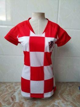 5de712915 2018 World Cup Women Jersey Croatia Home Replica Red Shirt  CFC60 ...