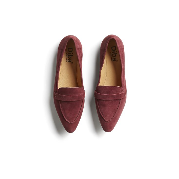 Stitch Fix Winter Stylist Picks: red suede loafers