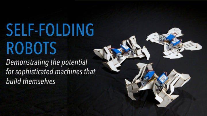 Self-Folding Robots