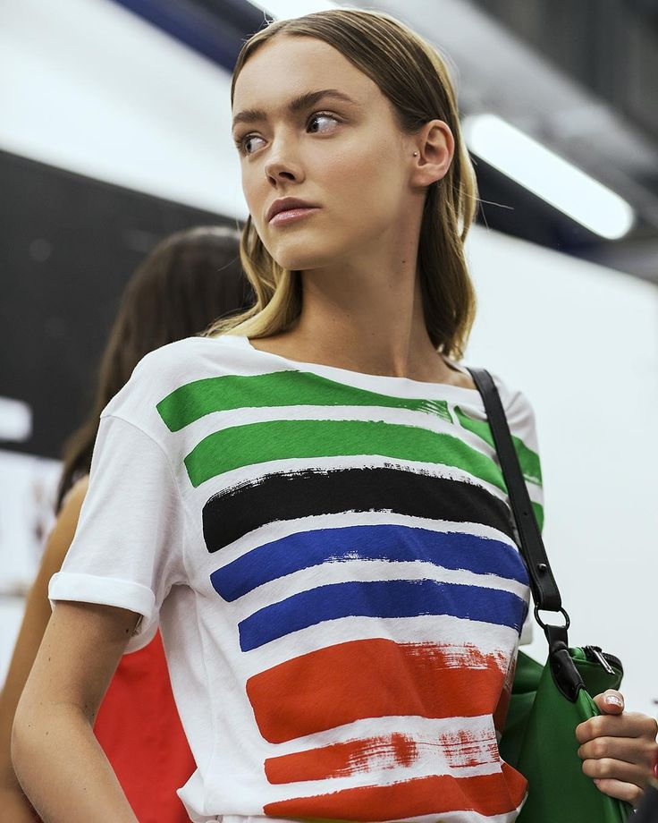 Always #color outside the lines. #SS17 #Benetton #woman #fashion