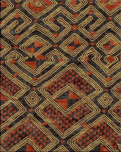 Kenyan Patterns Zion Star