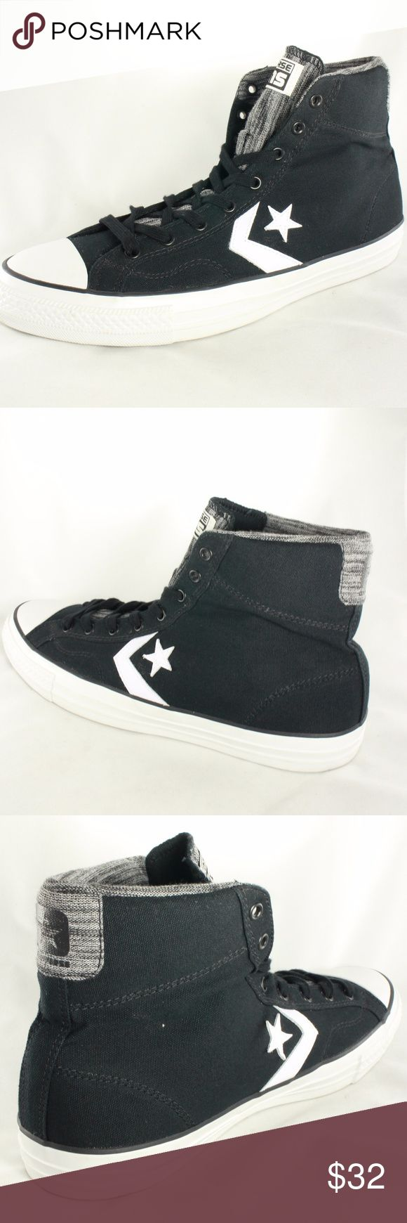 NEW CONVERSE Star Player High Top Sneakers All new Converse High Top sneakers. Never worn, perfectly new. Size 13 US Converse Shoes Sneakers