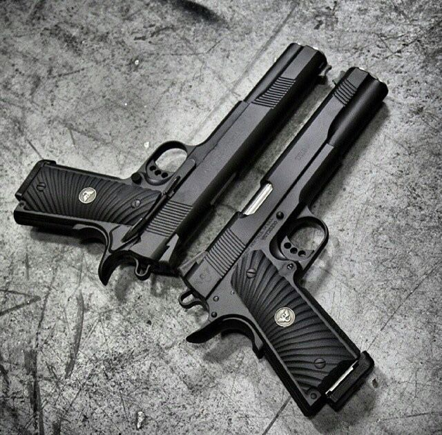 1911 x 2, pistols, guns, weapons, self defense, protection, 2nd amendment, America, firearms, munitions #guns #weapons