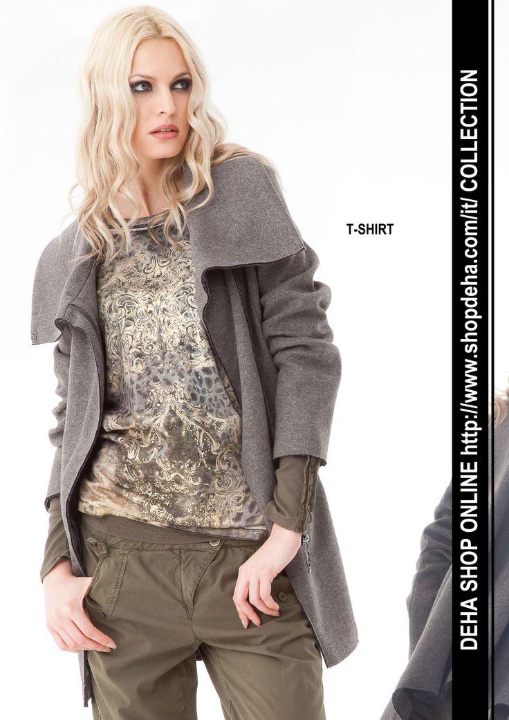 Per il vostro shopping online #DEHA #Tshirt http://www.shopdeha.com/it/ http://www.shopdeha.com/it/collection/133-t-shirt.html