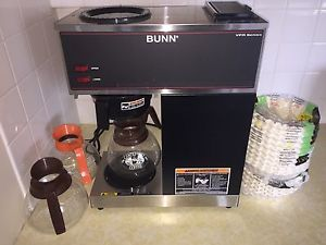 bunn coffee maker vpr series