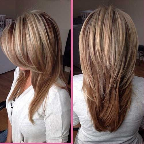 10.Layered Long Hairstyle