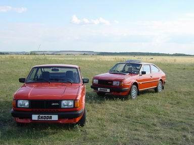 Starejši model Škoda Rapid 130 (1987) - (Copyright: en.skoda-club.net) / older model Skoda Rapid 130 (1987) - (Copyright: en.skoda-club.net)