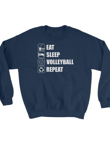 Eat Sleep Volleyball Repeat – Volleyball