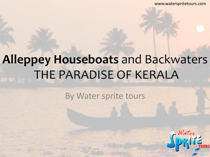 Alleppey houseboats and backwaters