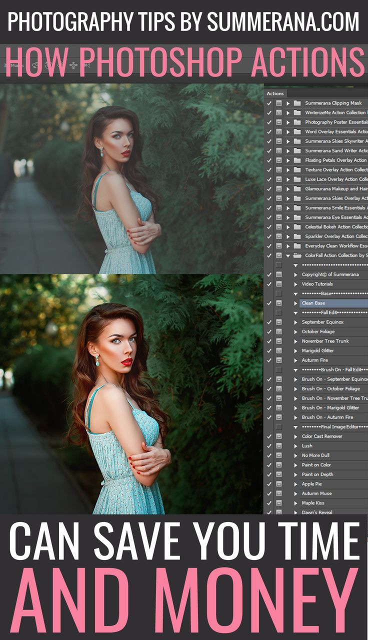 How Photoshop Actions Can Save You Time and Money