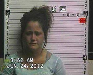 Teen Mom Jenelle Evans mug shot. #TeenMom #TeenMom2