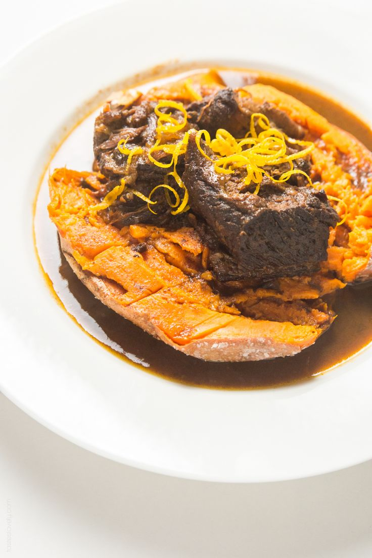 ... cooker Moroccan Braised Short Ribs - tender, flavorful short ribs
