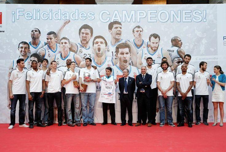 Ignacio González recibe al Campeón de la Liga de Baloncesto, el Real Madrid.