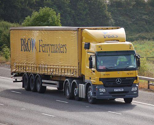 Mercedes Benz Actros Mp2