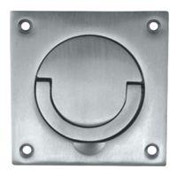 DoorHandleParts - 89mm Square Flush Pull (Squash Court Handle), £20.99 (http://www.doorhandleparts.com/89mm-square-flush-pull-squash-court-handle/)