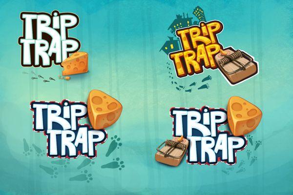 """TripTrap"" iphone/ipad game on Behance"