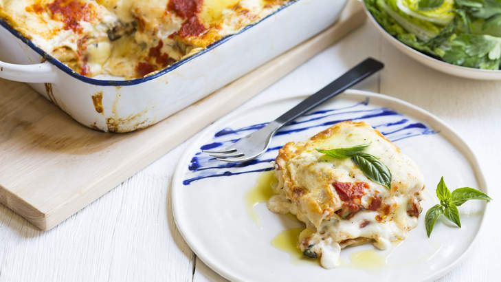 Karen Martini's summer vegetable lasagne.