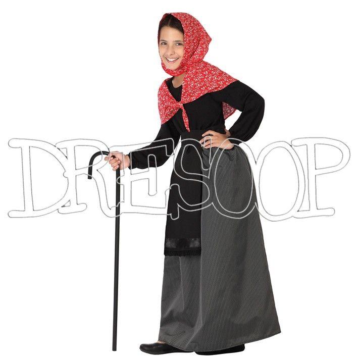 Disfraz Castañera para niña - Dresoop.es
