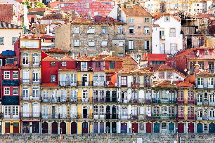 Oudste wijk Ribeira in Porto