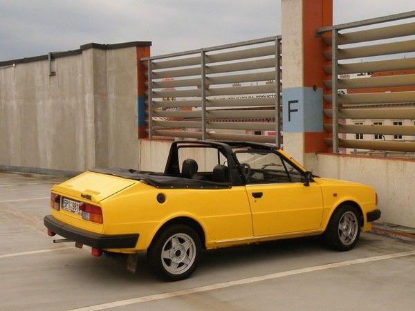 Škoda Rapid, cabrio