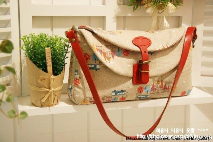 Pretty Handbag - pattern anf picture tutorial