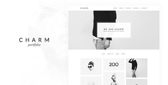 Charm - Portfolio for Freelancers & Agencies 44$
