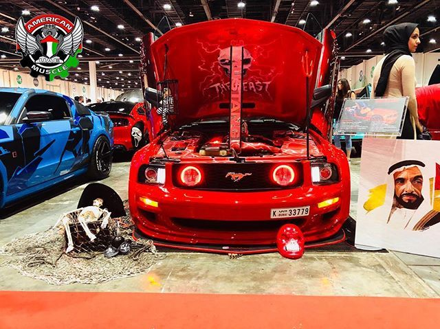 Ford Mustang Gt The Scary Talking Skeleton Mustang Pinkpony