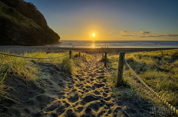 Piha beach, NZ