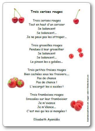 Trois cerises rouges d'Elisabeth Ayanidès