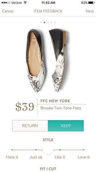 FFC NEW YORK Brooke Two Tone Flats.  https://www.stitchfix.com/referral/4292370