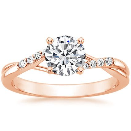 14K Rose Gold Chamise Diamond Ring from Brilliant Earth...Brilliant Earth may be THE best place to buy a rose gold ring