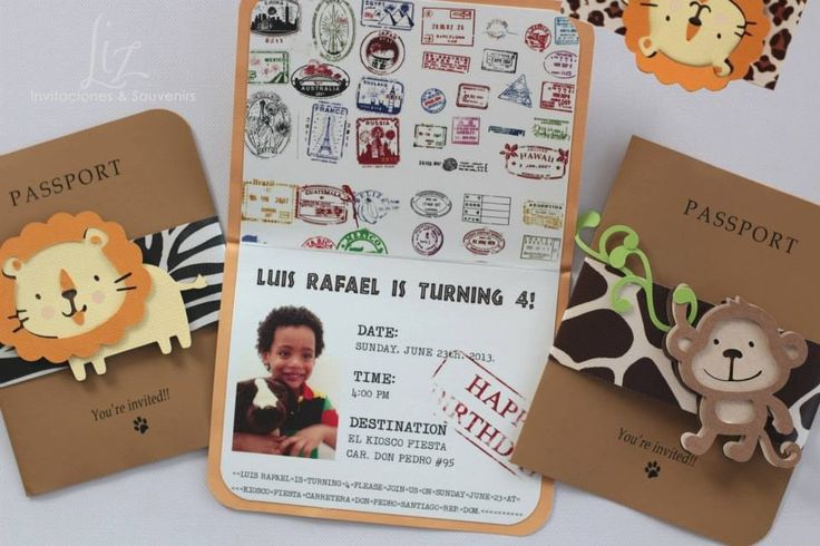 Invitaciones infantiles on Pinterest | Souvenirs, Hand Made and ...