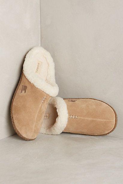 Sorel Nakiska Slide Slippers - anthropologie.com.