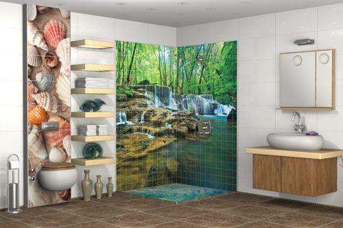Banyo 3D Cam Mozaik  BNY  1735 -1