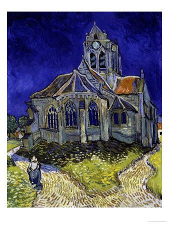 The Church  Van GoghArtists I, Vincent Vans, Favourite Art, Favourite Painting, Dear Vincent, Vans Gogh, Church Vans, Favorite Art, Vincent Van Gogh