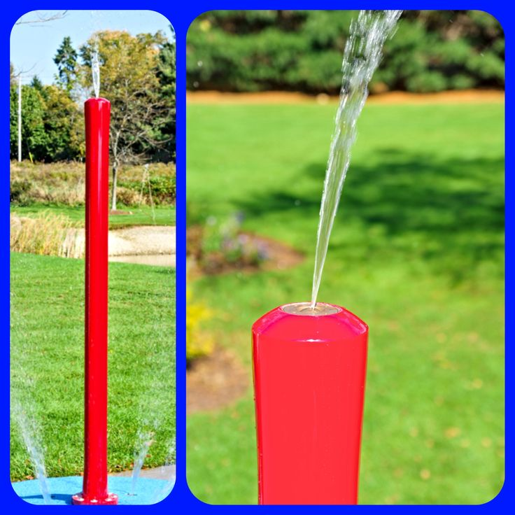 My Splash Pad for your home!! This 7' tall splash pad water play feature shoots water an additional 2' higher in the air then the 7' height.  The kids will love running around in your backyard splash pad. The tall Rain Stick is another good starter feature to use to start off and then update as the children grow.  Check with us about trade in value that we offer. #splashpad #mysplashpad #residentialsplashpad #backyardsplashpad #homesplashpad #waterfun #waterplayfeatures #tonsofFun…