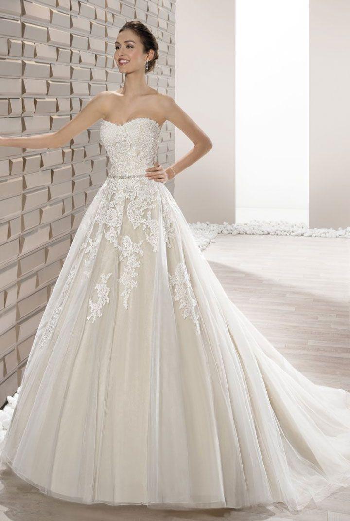 Demetrios Wedding Dresses 2017 { stapless wedding dress } itakeyou.co.uk #weddingdress #weddinggown #bridalgown #bridaldress