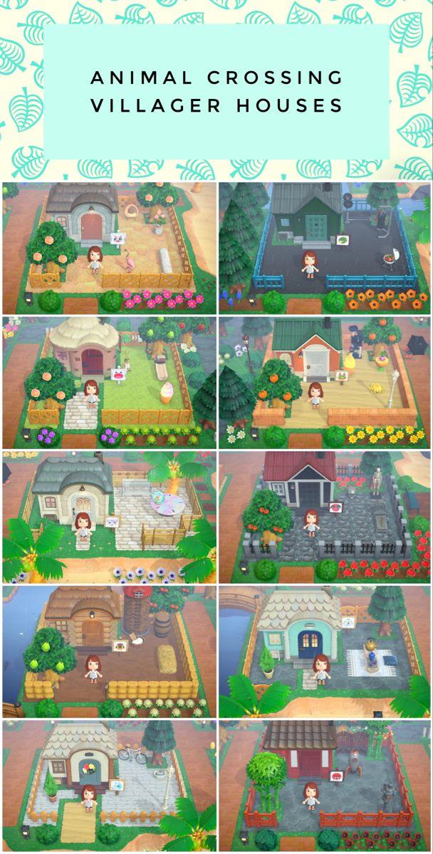 Animal Crossing Villager Houses Animal Crossing Animal Crossing 3ds Animal Crossing Villagers