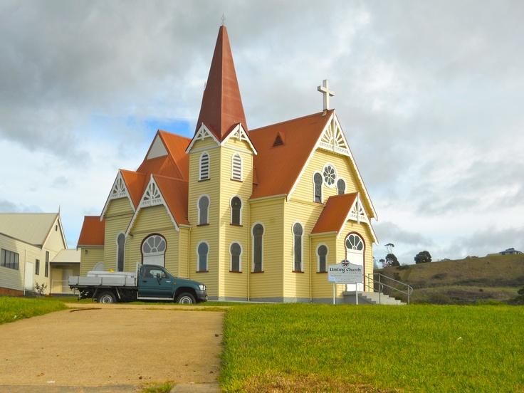 Uniting church at Penguin. North West Tassie.