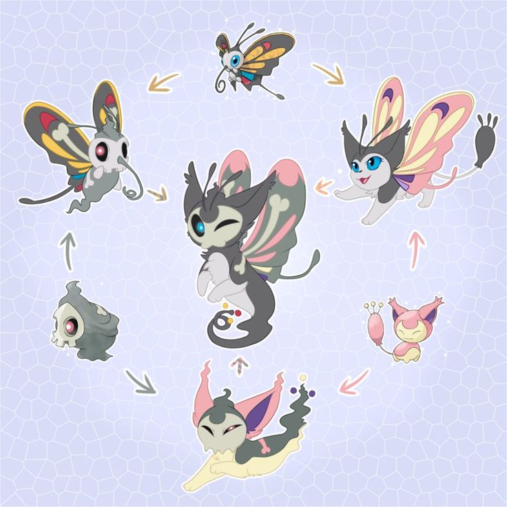 Pokemon Hexafusion by CrispyCh0colate on DeviantArt