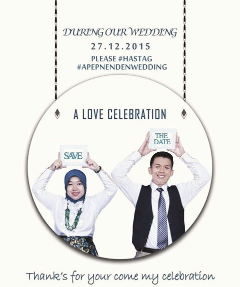 Invitation wedding ::APEP+NENDEN::