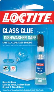 Glass Glue - Can't wait to try this to make a multi-tier of cake pans and glass candle sticks!