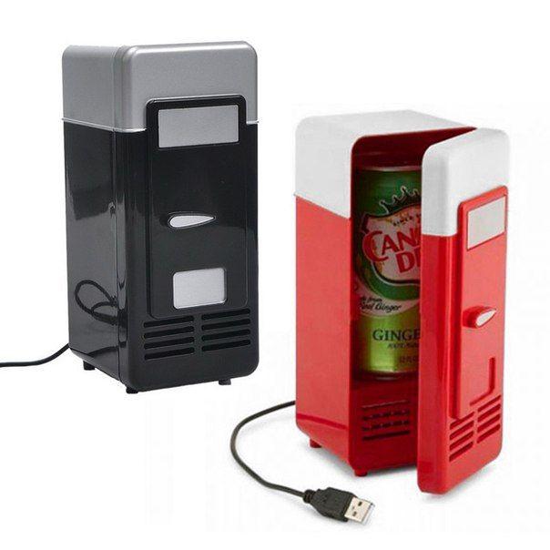 Мини-#холодильник для охлаждения напитков (подключение к USB).