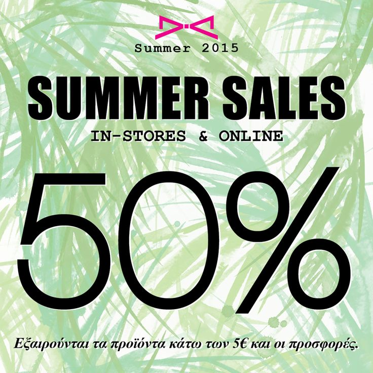 Summer Sales at #achilleas_accessories with 50%!!! Get them now!!