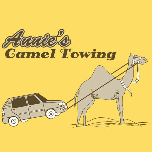 ANNIE'S CAMEL TOWING T-SHIRT